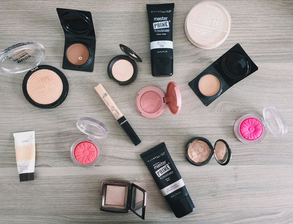 Travel face products