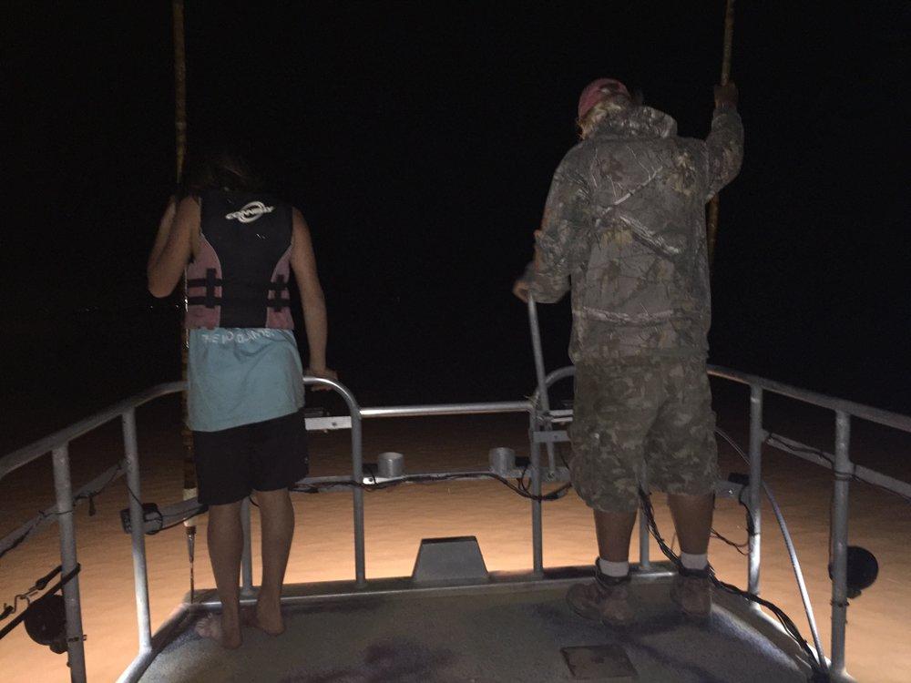 Flounder Gigging -