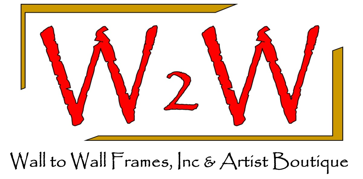 Custom Frame Shop — Wall to Wall Frames, Inc & Artists\'Boutique