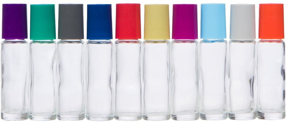 Want some 10 mL roller bottles with a pop of color?! These are so much fun!