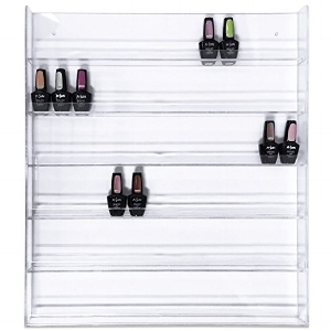 This wall rack fits 5 mL, 10 mL and roller bottle sized oils perfectly!