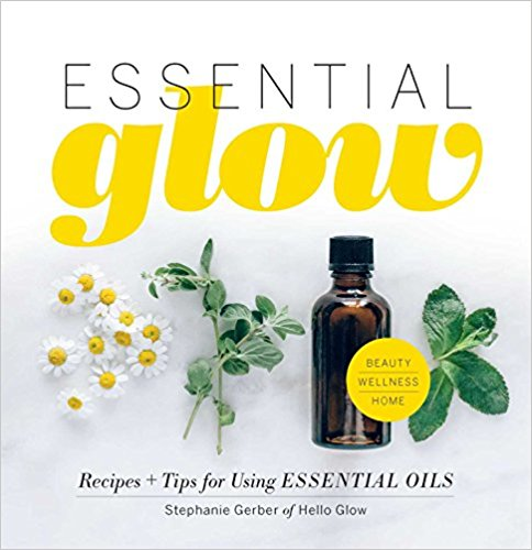 ESSENTIAL GLOW   Lavender, chamomile, tea tree, rose, and sandalwood—invite the aromatic and healing powers of your favorite herbs and botanicals into your life with this beautiful guide. You'll discover recipes, quick tips, and DIY projects to boost your beauty, home, and general wellness with your favorite essential oils.