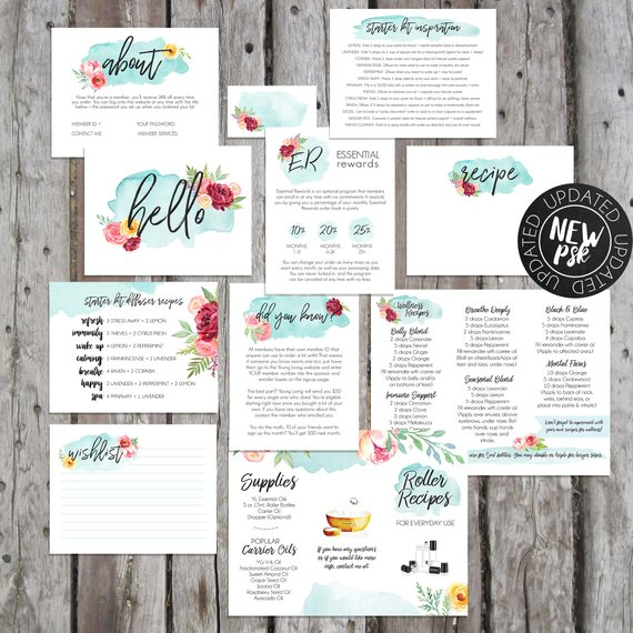 THE GRAPHICS MARKET   Jordan makes beautiful printables you can purchase to download and either print yourself or through Vistaprint/Overnight Prints. She offers so many ways to love on your team, welcome them to YL and help them learn as they go along their journey!