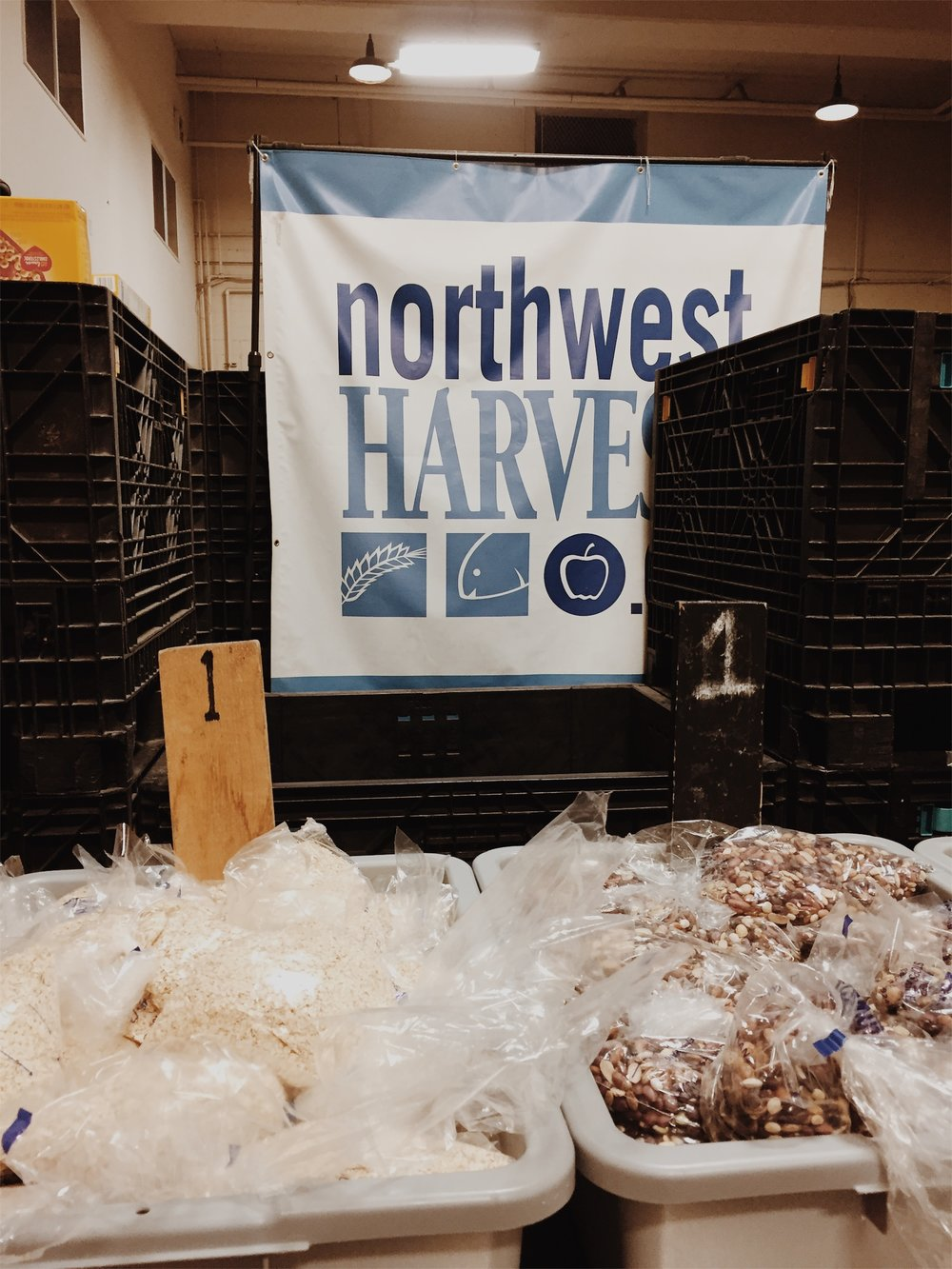 Northwest Harvest Cherry Street Food Bank