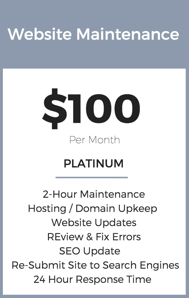 Website Maintenance Package | Seattle