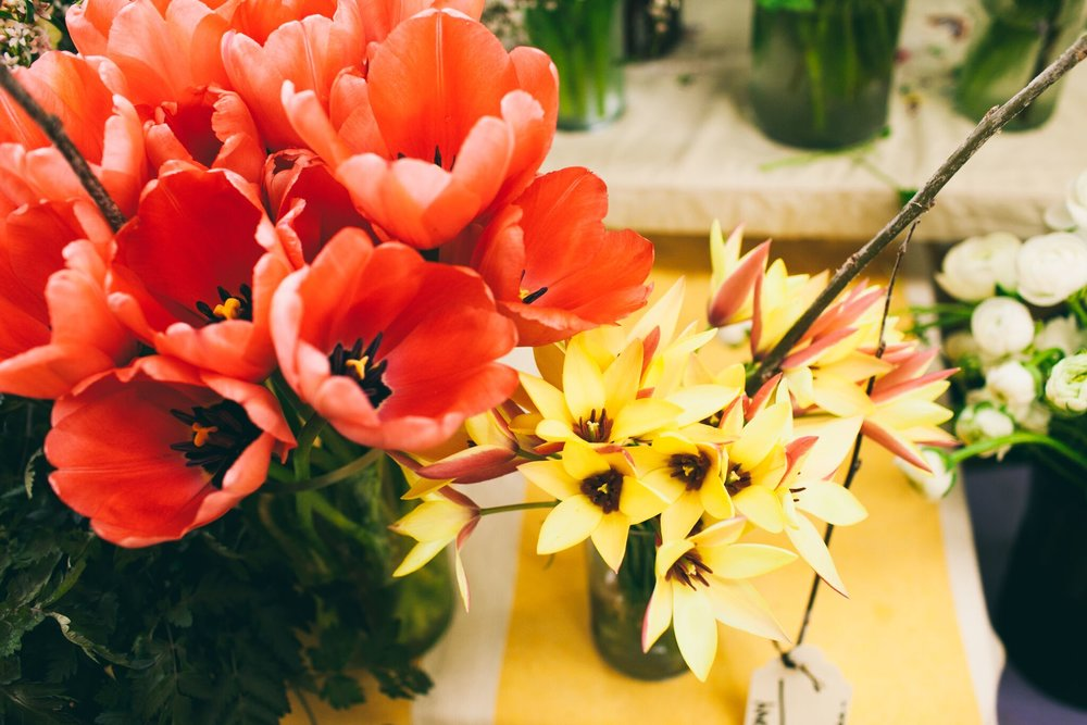 - They're not just prettier but they haven't traveled long distances., Local allows you to have a greater knowledge of how your flowers were raised and supports local business. With the right growers, you can work together to ensure you are getting all those great, strange flowers that are extra special. Nothing conveys specialness than pointing out a flower and telling them about the person who grew it for them. Thats just love and speicalness all over the place.