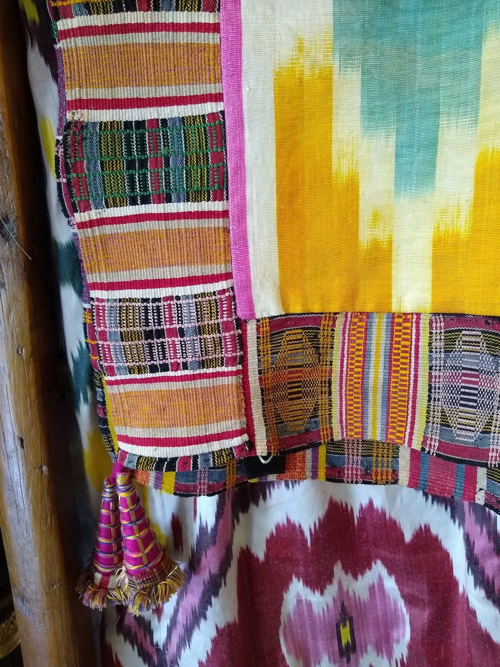 Ikat throw