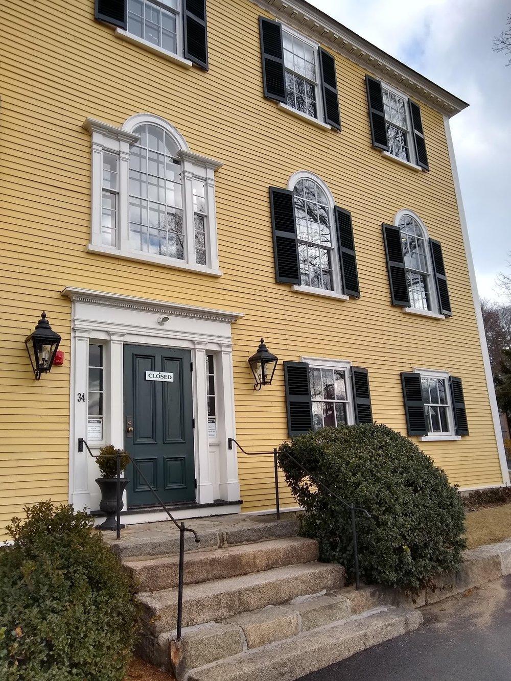 Historical Society building, Hingham, MA