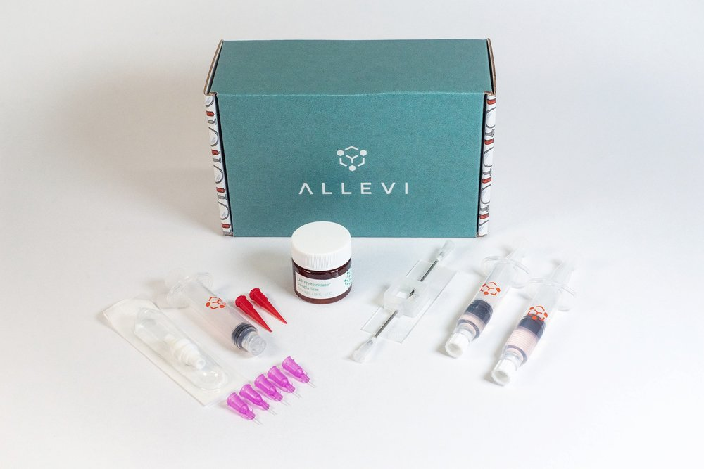 allevi vascularization bioink kit bioprint bioprinter bioprinted veins