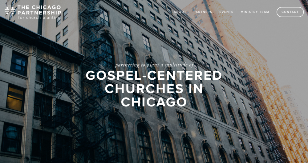 The Chicago Partnership for Church Planting  is a multi-ethnic, multi-denominational team of leaders working towards a movement of gospel-centered churches planted & revitalized in Chicago.    Pastor Mark Bergin serves on the Ministry Team of CPCP as their Director of Coaching and Planter Development.