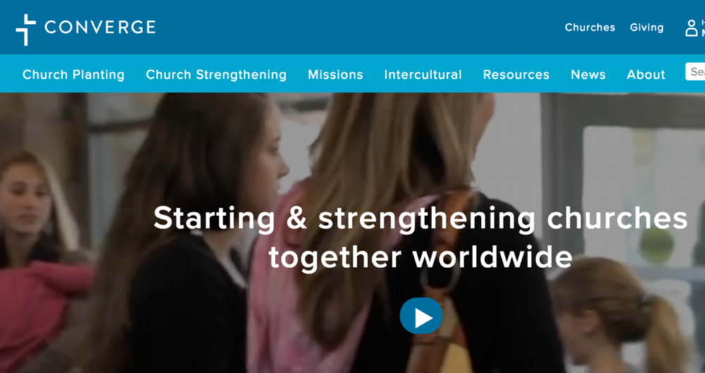 Converge  is a movement of over 1300 churches working to help people meet, know and follow Jesus. We do this by starting and strengthening churches together worldwide.   Converge helped fund and support the launch of The Painted Door.
