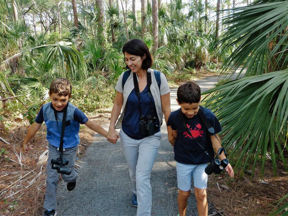 Family Bird Walk with Ana