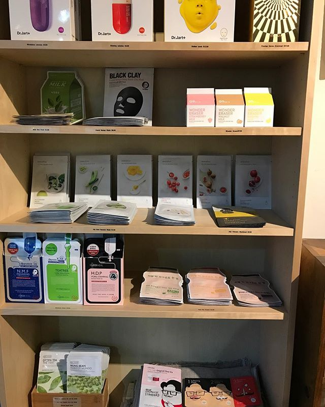 Now featuring Korean cosmetic products! All different kinds of mask. Come by.  #일상#소통#제주사람#미국생활#저희가게놀러오세요#놉힐#sanfrancisco#nobhillherb#1528california#koreancosmetic#koreanmask#facialmask