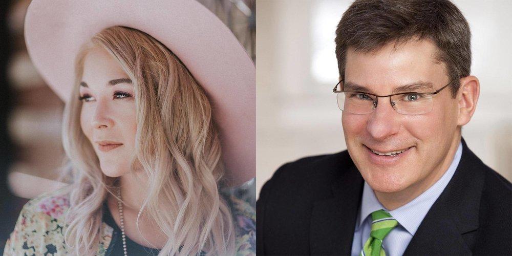 Sarah Edwards and Dr. Gregory Plotnikoff