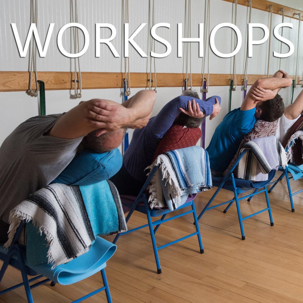 Workshops link button