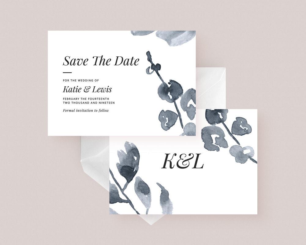 Printable DIY Save The Date Template