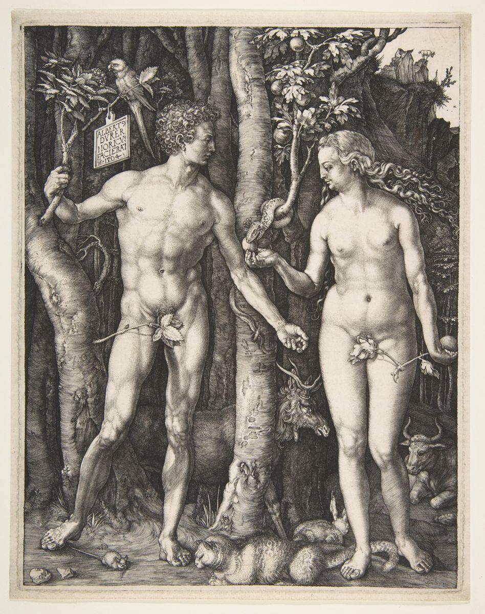 Adam and Eve - Albrecht Dürer (1504)