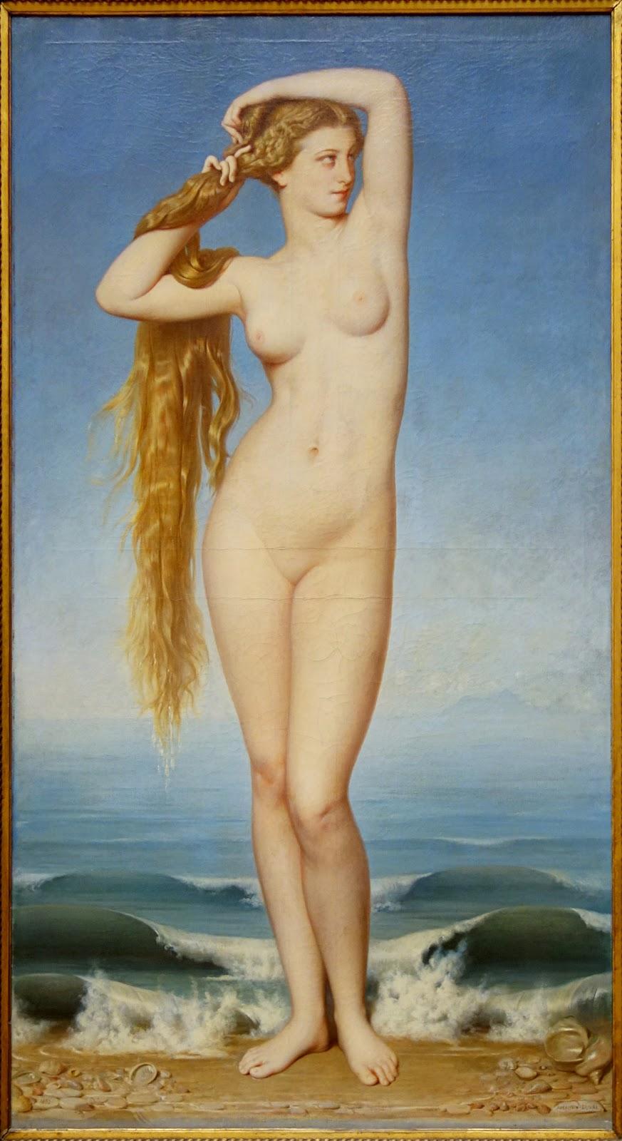 La Naissance de Venus - Eugene Amaury Duval (1862)