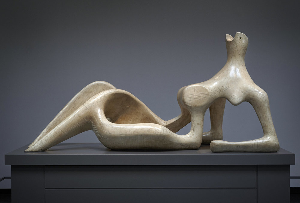 Reclining Figure - Henry Moore (1951)