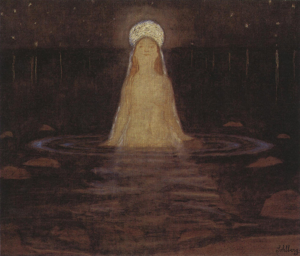 Mermaid - Harald Oskar Sohlberg (1897)