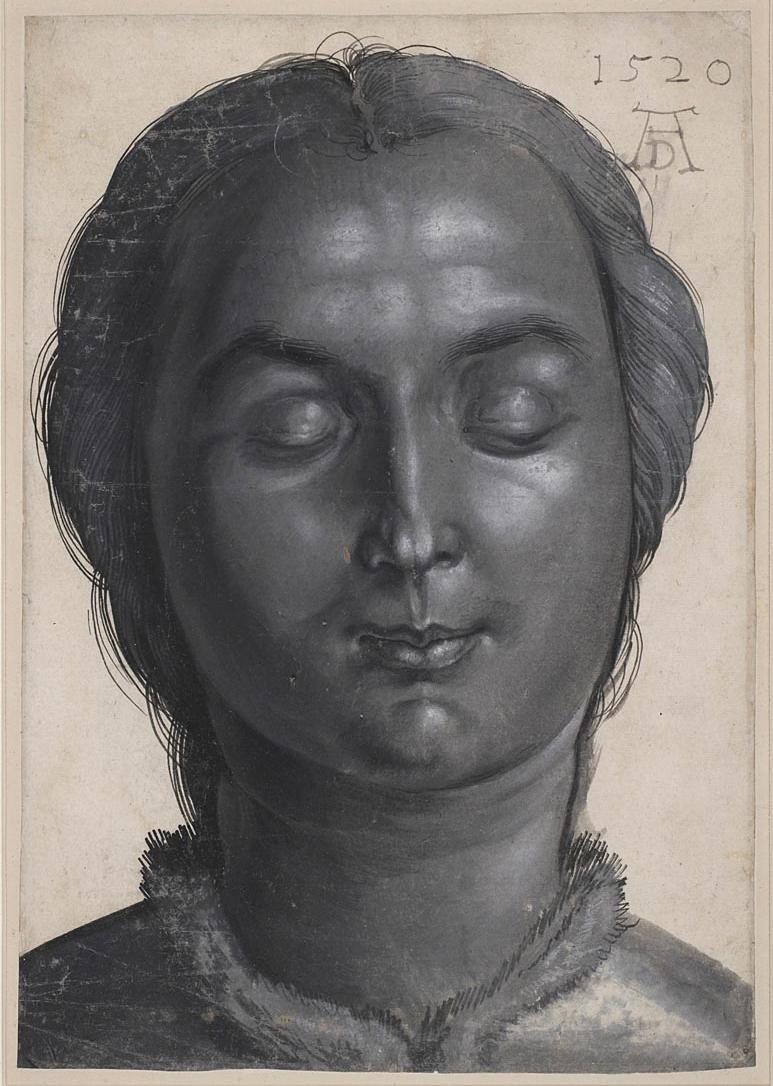 Head of a Woman - Albretch Dürer (1520)