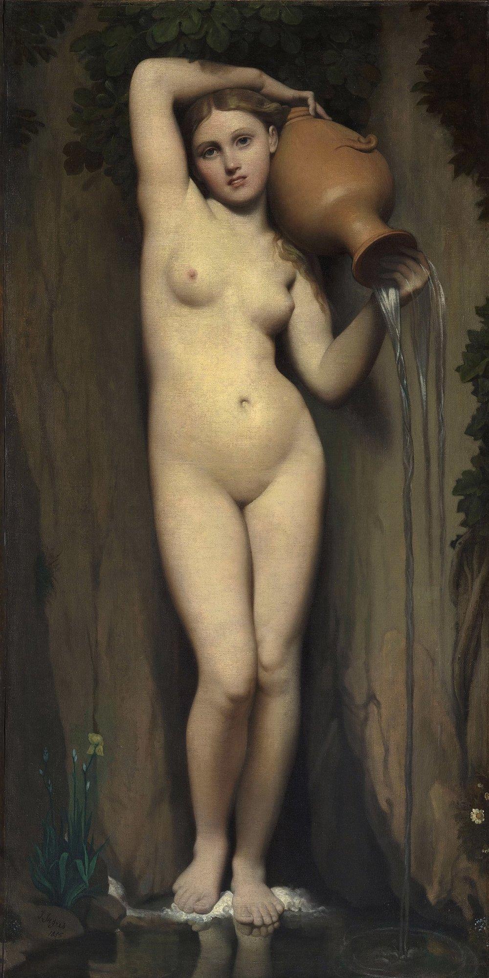 La Source - Jean Auguste Dominique Ingres (1856)