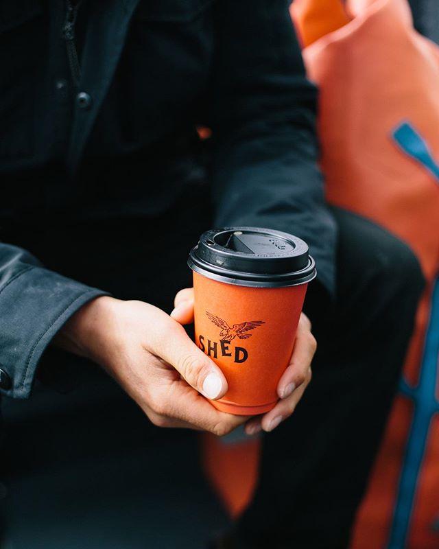 A typical Tofino Morning: Blundstones ✔️ Rain Jacket ✔️ Dry Bag ✔️ Coffee ✔️ _  #shareyourshed by @kylervos _ #vancouverisland #tofino #tofinobc #yourtofino #shedfaced #shedtofino #coffee #branding #design #surf #surftofino #hellobc #explorebc #blundstones
