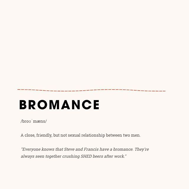 We all can think of at least one bromance in our social circles... Tag the bromance that first comes to mind! _ #tofino #vancouverisland #yourtofino #tofinobc #hellobc #destinationbc #eattofino #foodporn #shed #shareyourshed #Shedtofino #surf #explorebc #ShredTofino #shedrestaurant #meme #definition #bromance