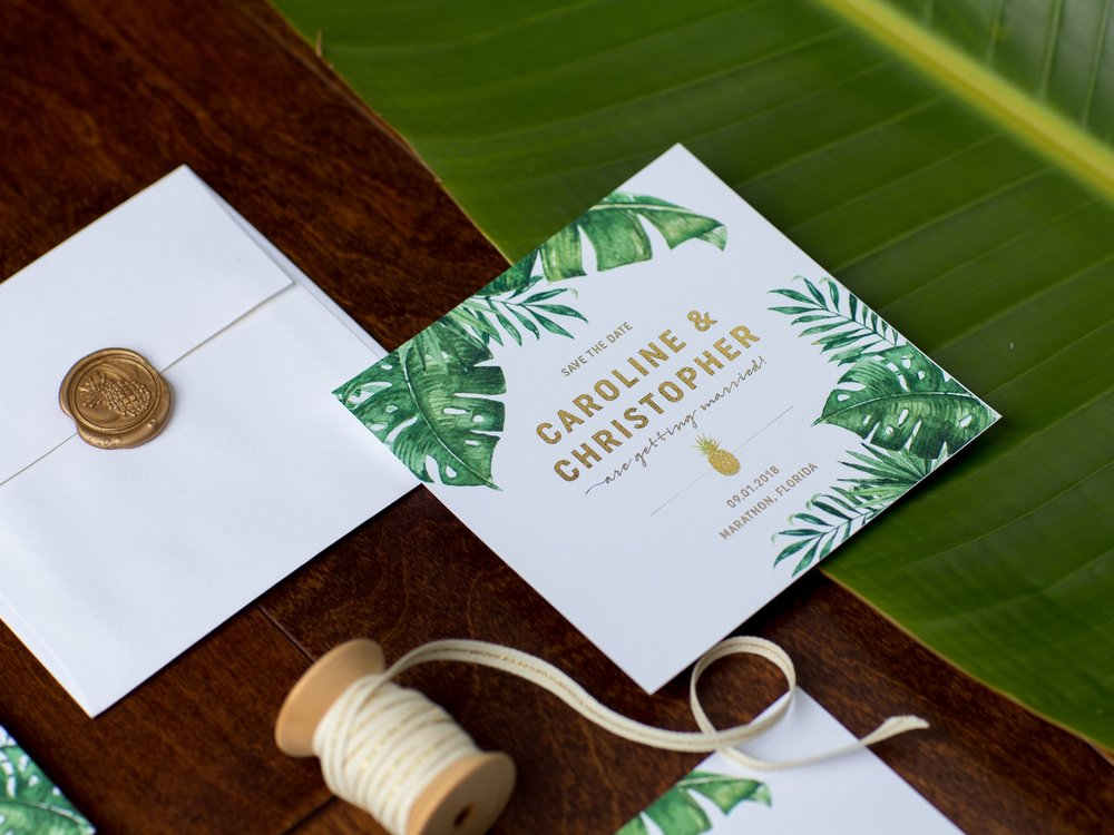 """I was so stressed about my invites, but Katie made the whole process a breeze! The invites are gorgeous!"" - -Caroline"