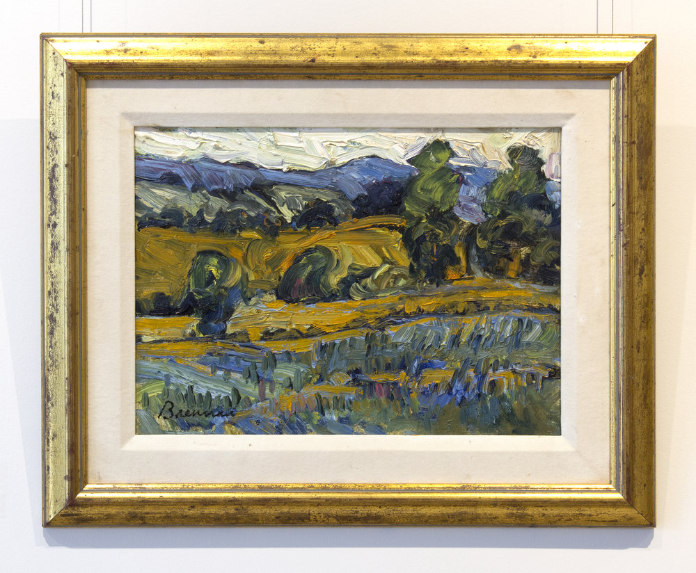 Jerry BrennanFields & Hills, Cavan - oil on board12 x 16 inches, 18 x 22 inches framed$1,500