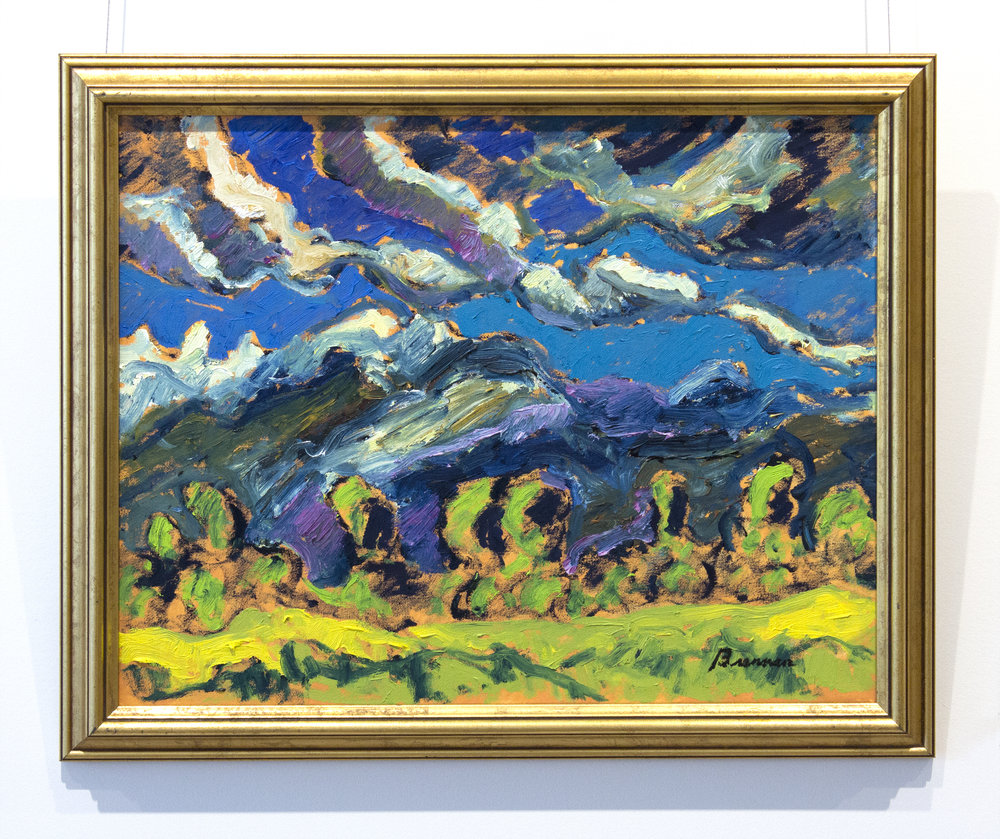 Jerry BrennanSpring Sky - oil on canvas16 x 20 inches18.5 x 22.5 inches framed