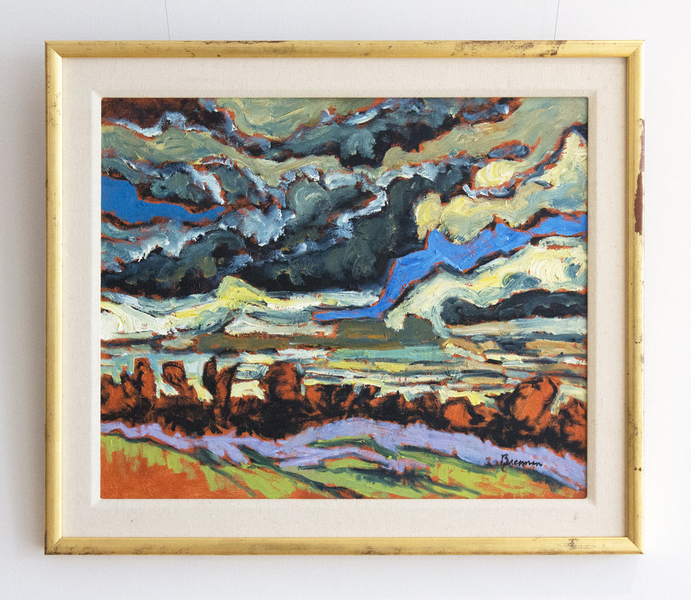 Jerry BrennanStorm Clouds, Fall - oil on canvas20 x 24 inches25 x 28.5 inches framed
