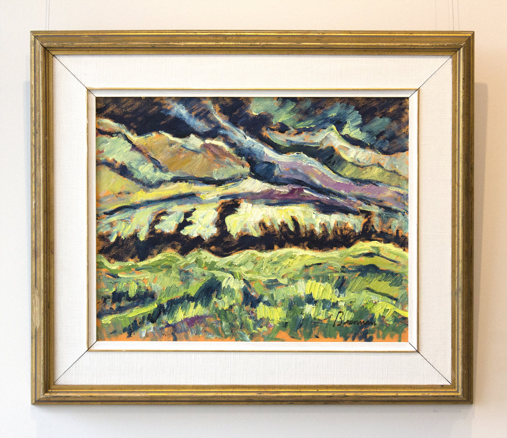 Jerry BrennanStorm Clouds, Summer - oil on canvas16 x 20 inches24 x 28 inches framed