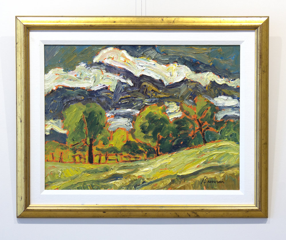 Jerry BrennanSummer Sky - oil on board18 x 24 inches, 24 x 30 inches framed$3,000