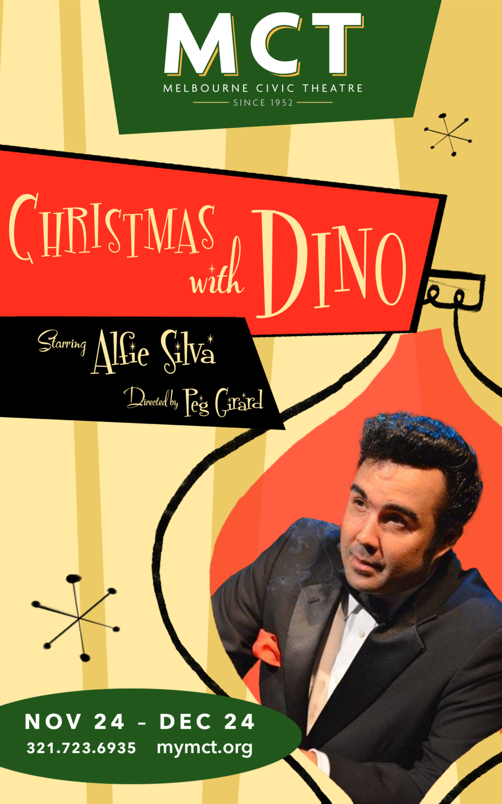 Alfie Silva's Christmas with Dino