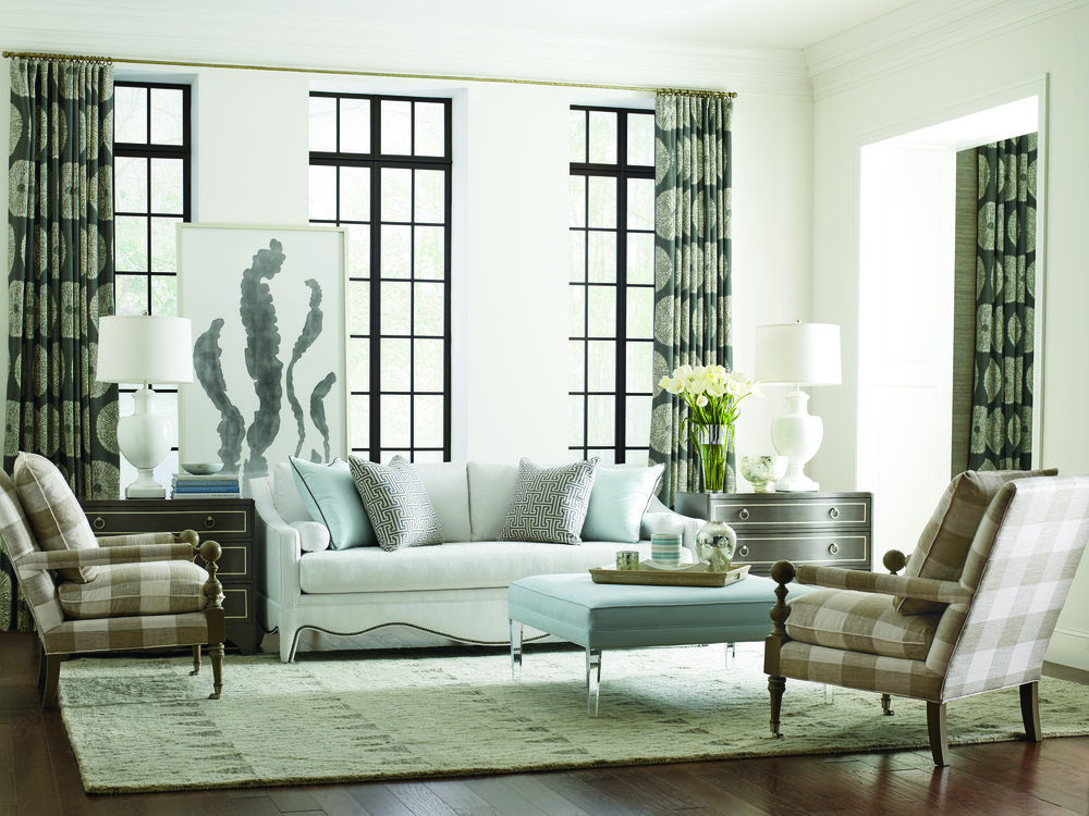 Charmant Living Room Landing Page_CR Laine_2610 20B_8195_76 17_RS_0416_Eva Sofa,  Bradstreet Chair, Trent Ottoman