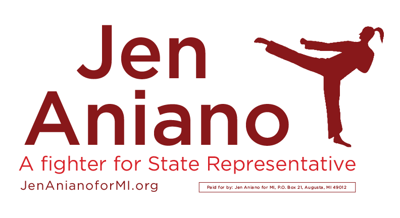 Jen Aniano -- A fighter for the 63rd District