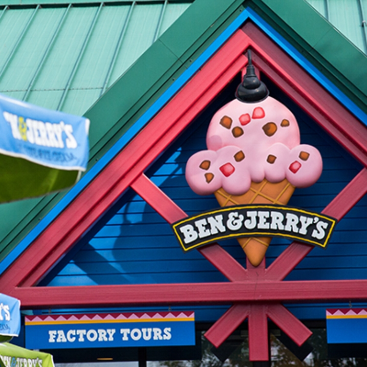Ben and Jerry's Factory Tour