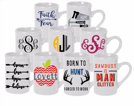 Personalized Mugs Sweet Celebrations