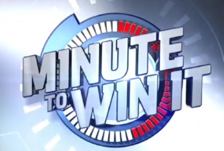 Minute to Win it Team Activities
