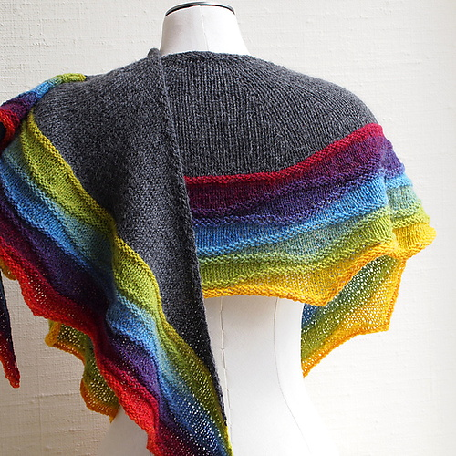 Lightwaves Shawl