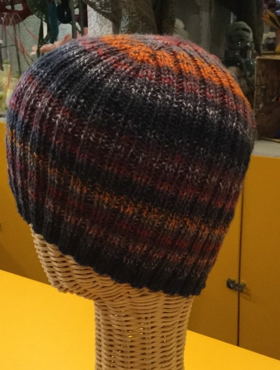 Adult 2x2 Ribbed Hat