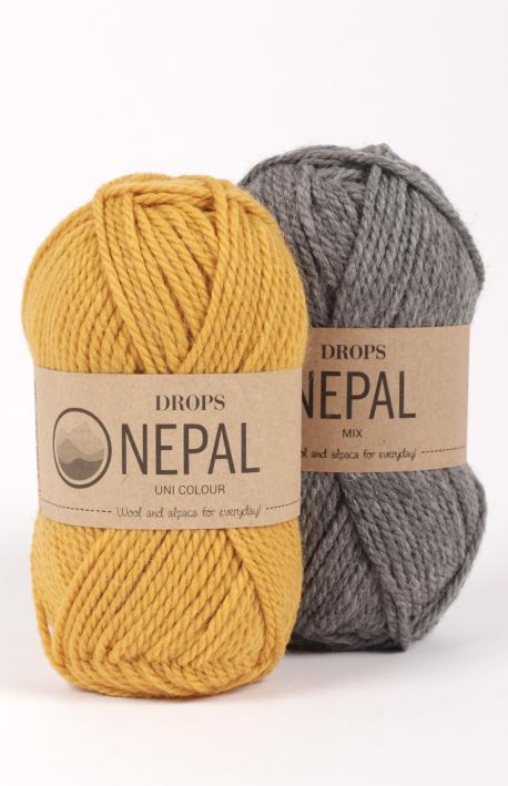DROPS Nepal balls