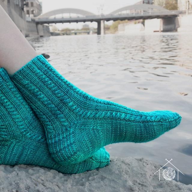 Footbridge Socks