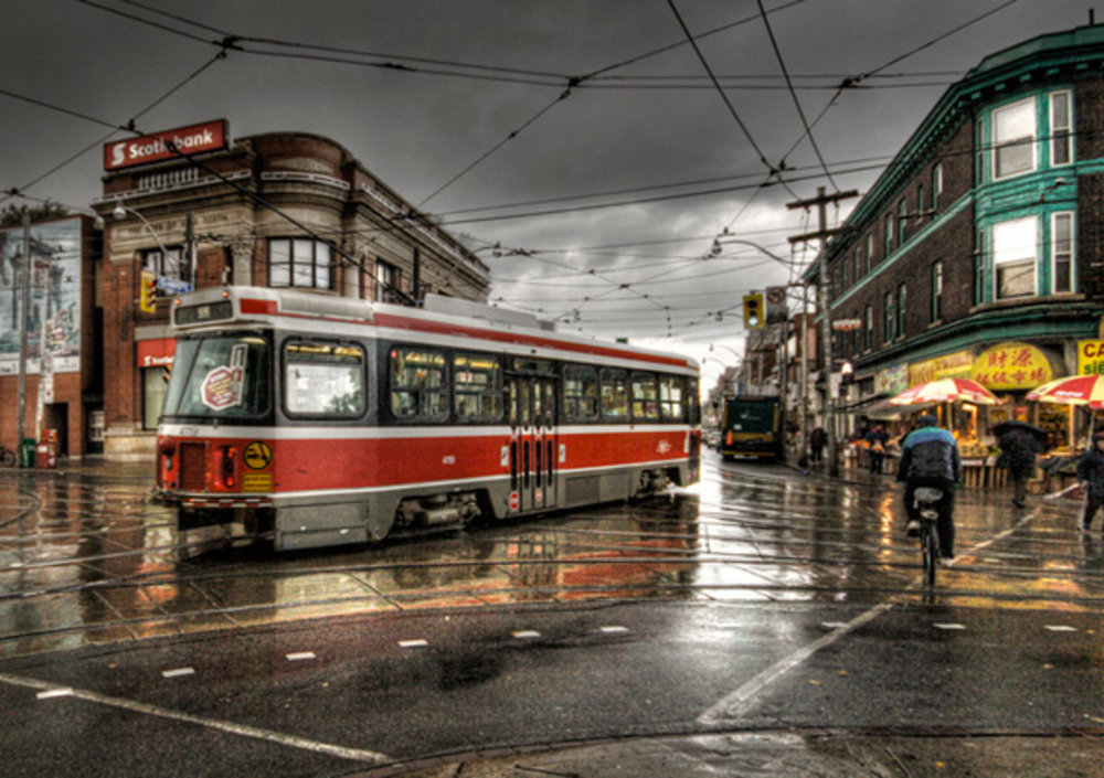 Queen Street East Streetcar
