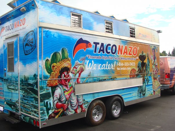 Drop Off - Have you ever wished for a Taco Nazo in your own backyard?Our catering team helps your wish come true! Fully trained professional staff will drop off a setup with platters of Nazo goodness for your family gathering, house party, or any type of event.