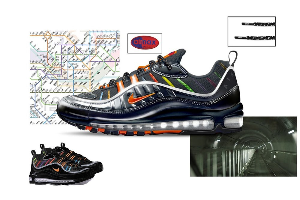 "Air Max 98 ""Metro"" by Joon Oh Park"