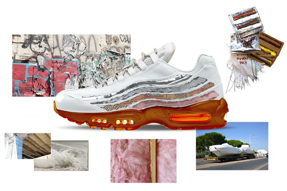 "Air Max 95 ""Cross Section"" by Brett Ginsberg"