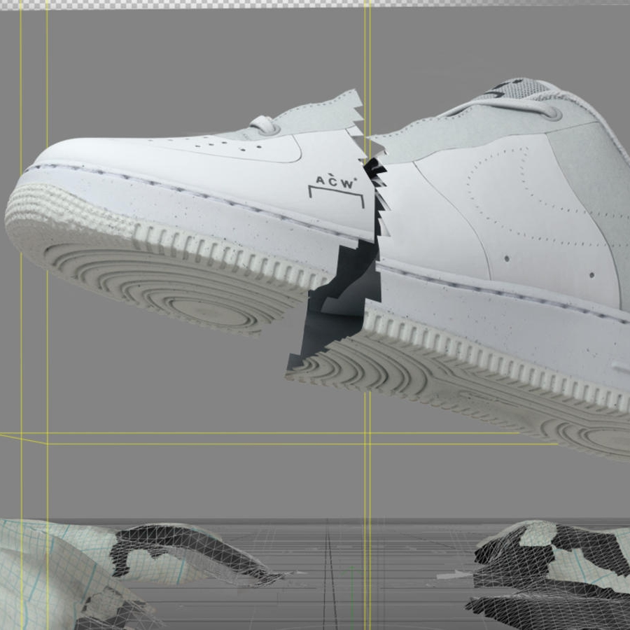 ac1900d07439 A-COLD-WALL  has Officially Unveiled Their Eco-Friendly Nike Air Force 1 —  UNRTD™