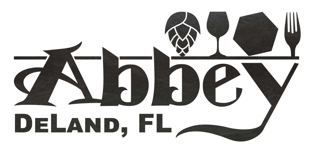 Abbey Bar DeLand | 117 N Woodland Blvd. DeLand FL 32720 | 386-734-4545  Happy Hour drink pricing all day with card for members